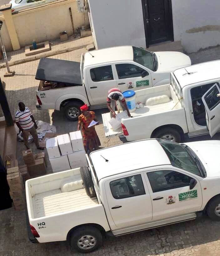 Supplies being deployed to States from NCDC for outbreak response
