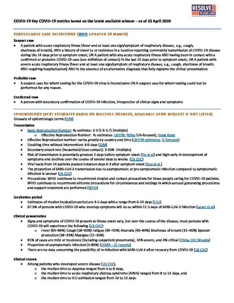 Science Metrics April 27 2020 cover