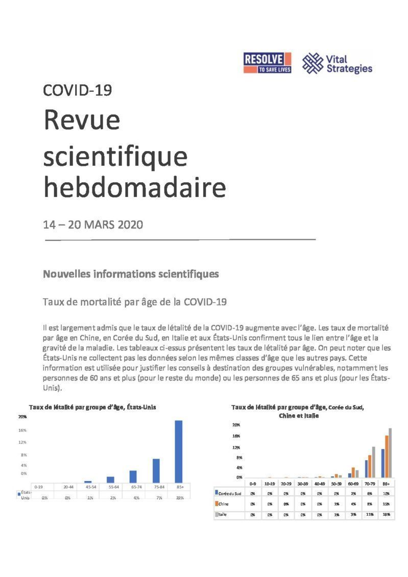 Science Review French March 14 - 20 2020 cover