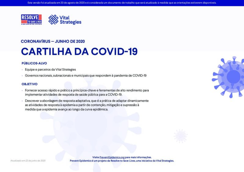 Cartilha da COVID-19 cover