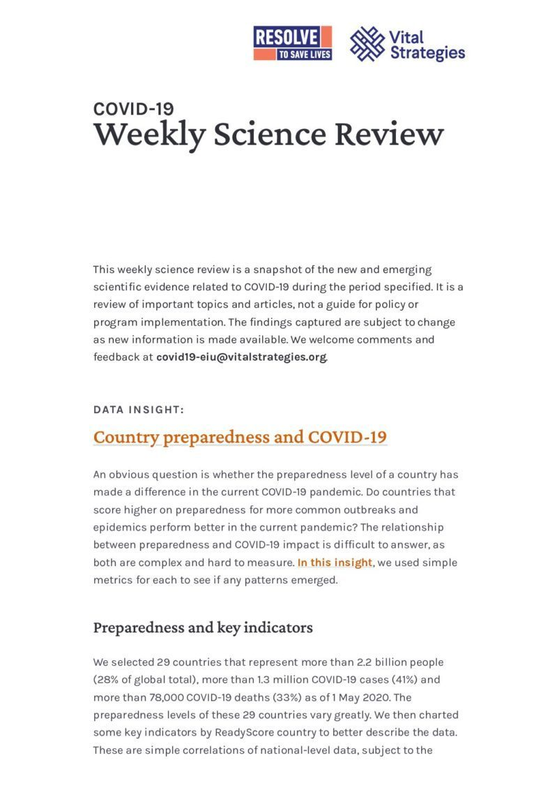 Science Review English April 25 - May 1 2020 cover