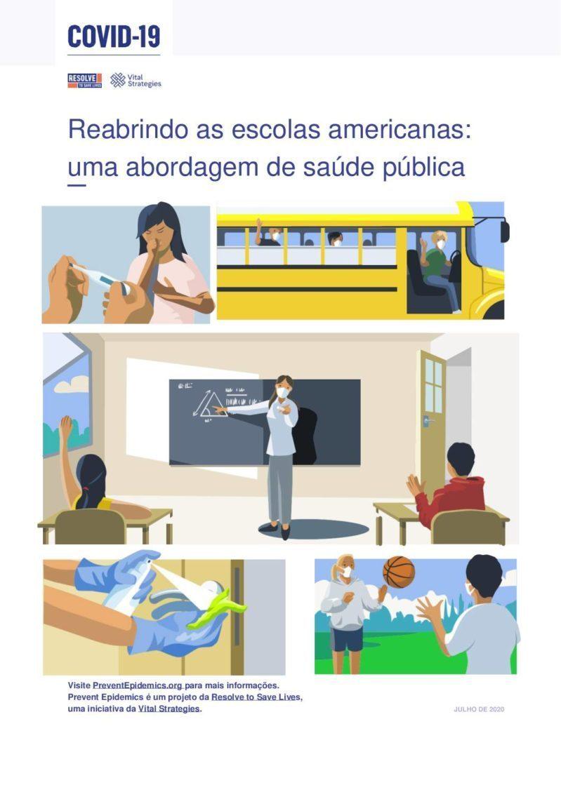 Reabrindo as Escolas Americanas: uma abordagem de saúde pública cover
