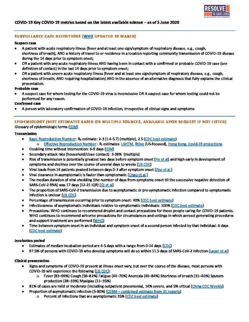 Science Metrics June 12 2020 cover