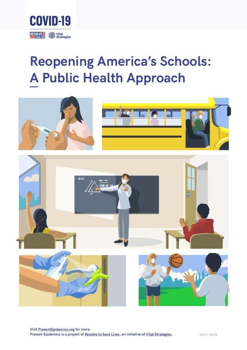 Reopening America's Schools: A public health approach cover