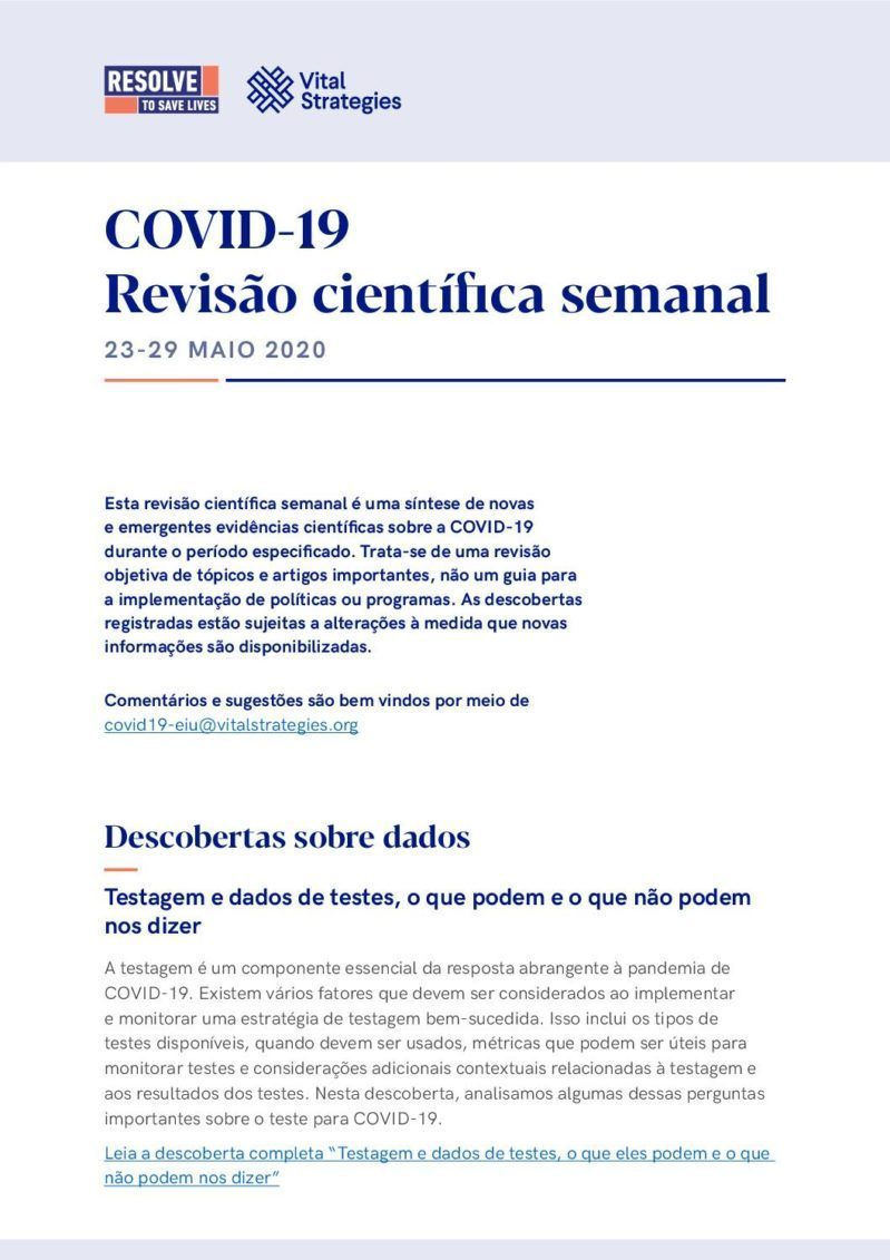 Science Review Portuguese 23-29 2020 cover