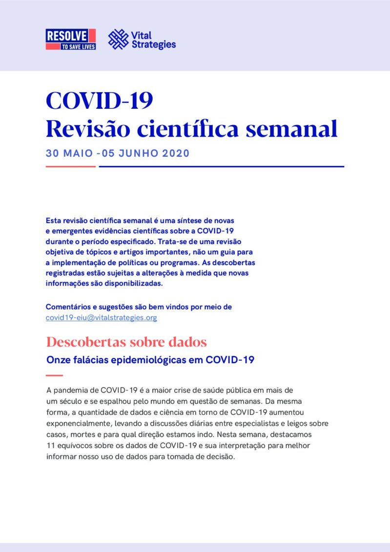 Science Review Portuguese May 30 - Jun 5 2020 cover