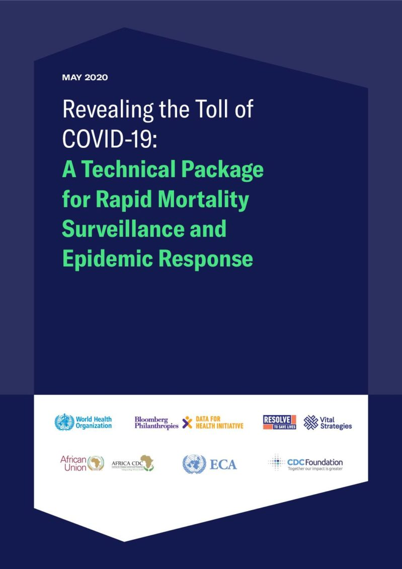 Revealing the Toll of COVID-19: A Technical Package for Rapid Mortality Surveillance and Epidemic Response cover