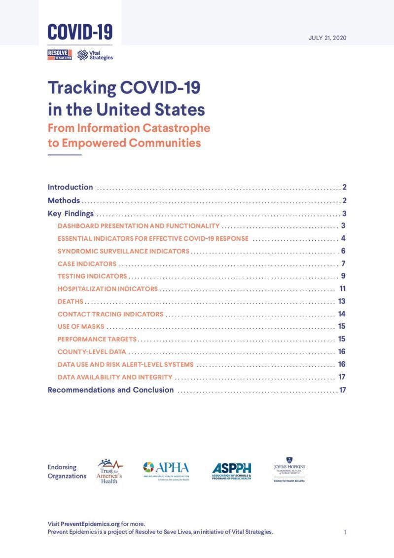Tracking COVID-19 in the United States: From Information Catastrophe to Empowered Communities cover