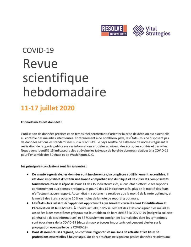 Science Review French July 11-17 2020 cover