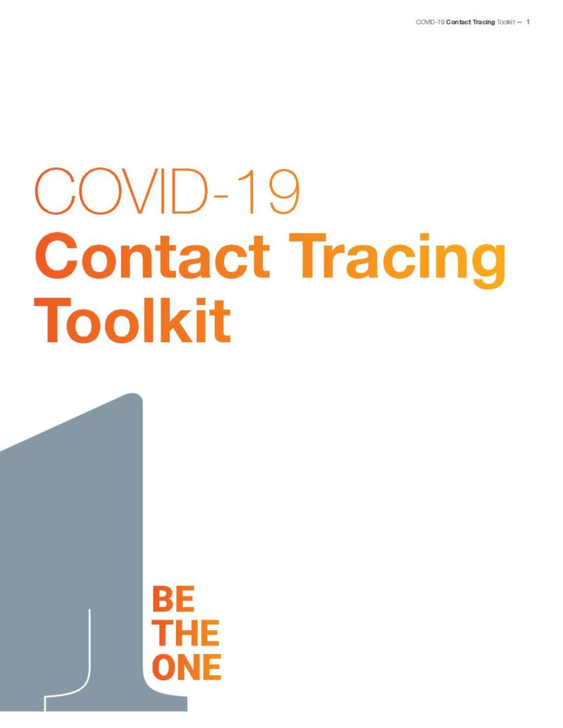 Contact Tracing Toolkit cover