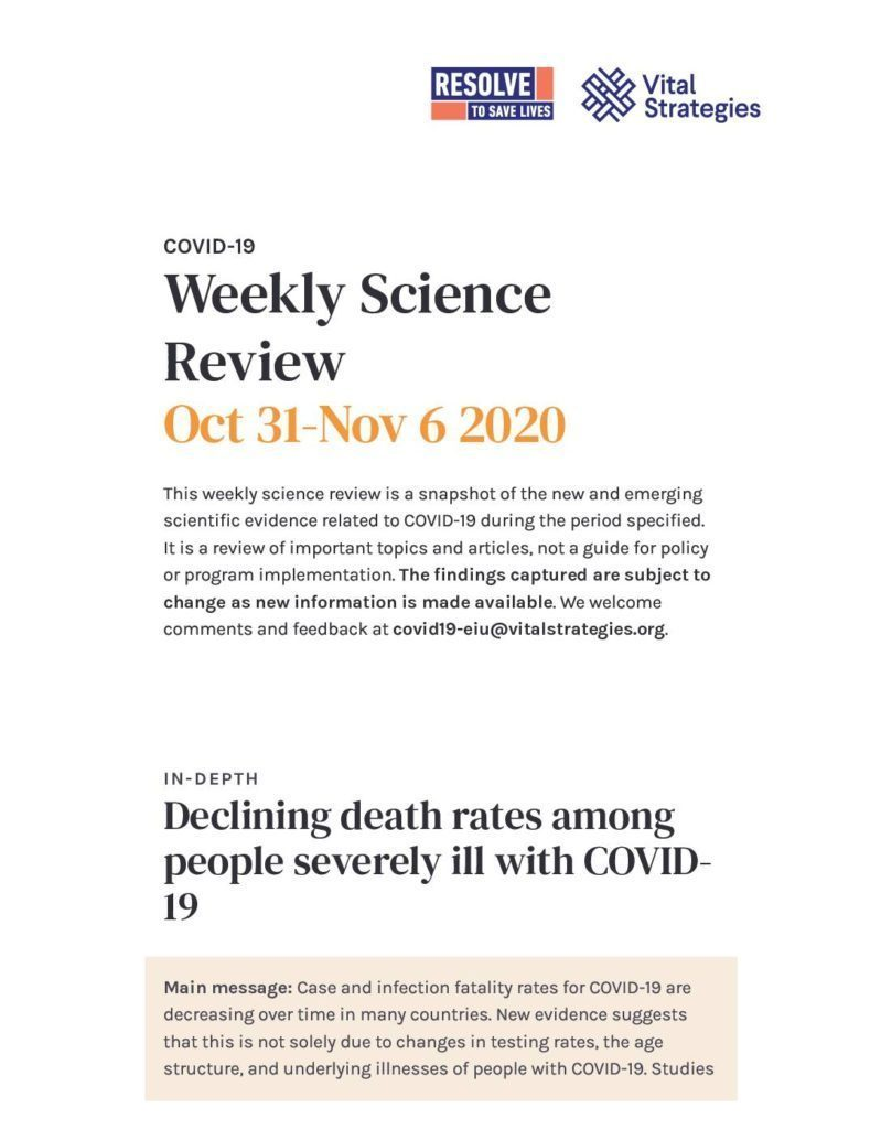Science Review Oct 31-Nov 6 2020 cover