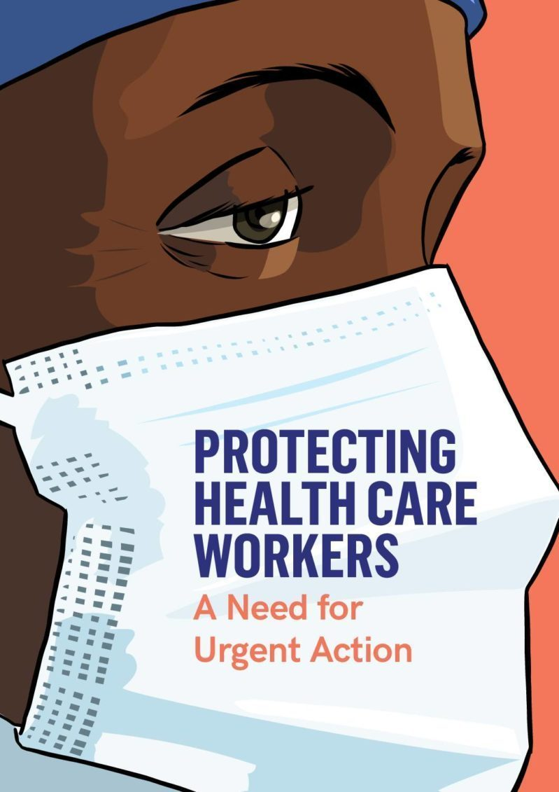 Protecting Health Care Workers: A Need for Urgent Action cover